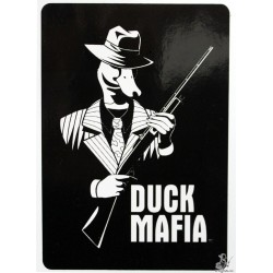 Duck Mafia™ Official Logo Vinyl Sticker